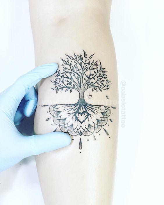 50 Ideas De Tatuajes De árbol De La Vida Foto Y Significado Tattoos Para Mujer Hombre