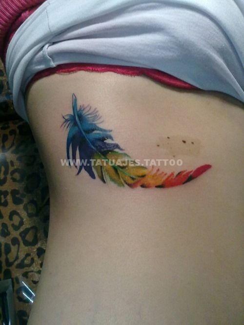 50 Ideas De Tatuajes De Plumas Foto Y Significado Tattoos