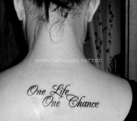 50 Ideas De Tatuajes De Frases Foto Y Significado Tattoos