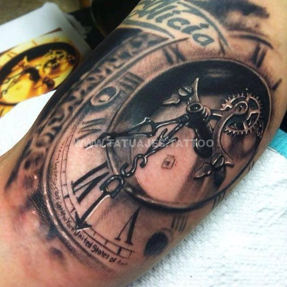 50 Ideas De Tatuajes De Relojes Foto Y Significado