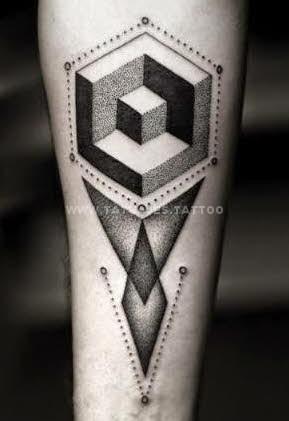 50 Ideas De Tatuajes De Geométricos Foto Y Significado