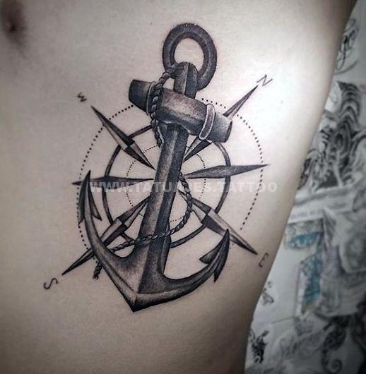 50 Ideas De Tatuajes De Anclas Foto Y Significado Tattoos