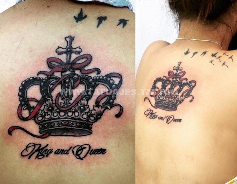 50 Ideas De Tatuajes De Coronas Foto Y Significado