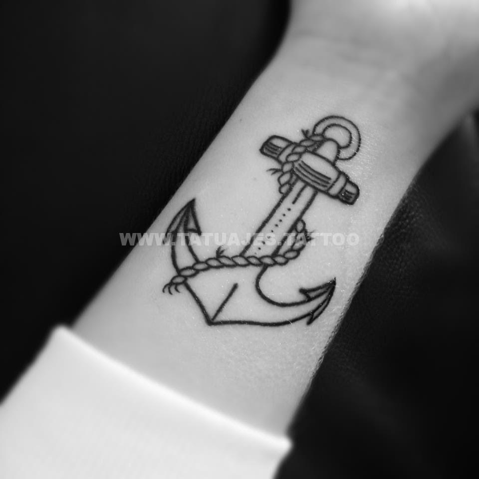 50 ideas de 【 Tatuajes de Anclas 】 📷 Foto y significado + Tattoos para  Mujer/Hombre