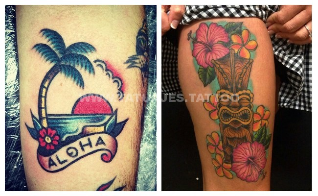 50 Ideas De Tatuajes De Hawaianos Foto Y Significado