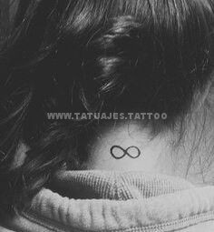 tatuaje del infinito en la nuca 4