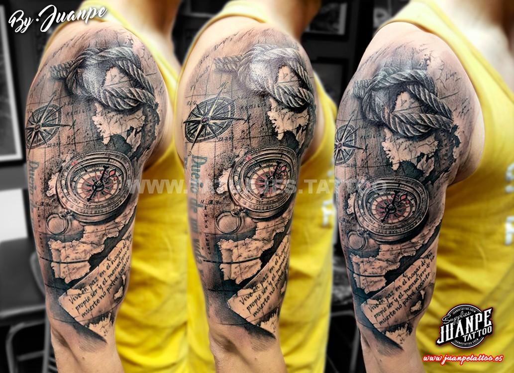 Brujula Tattoo
