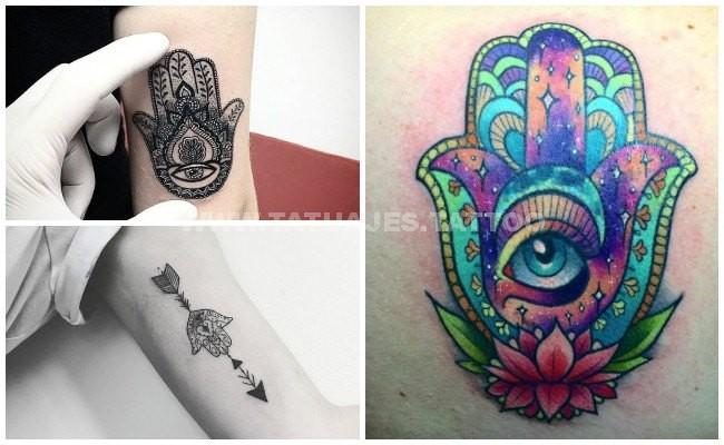50 Ideas De Tatuajes De Mano De Fátima Foto Y Significado