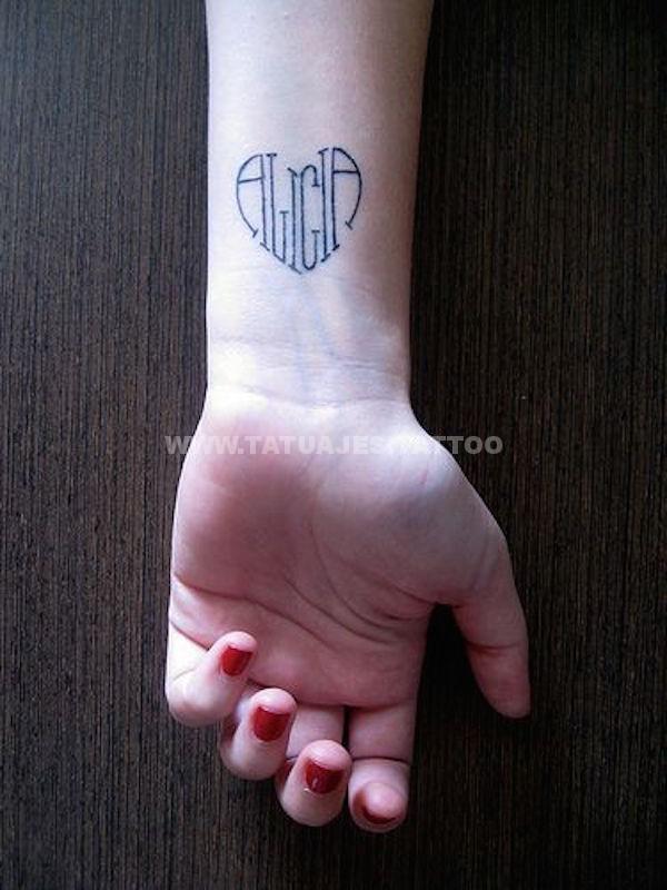 tatuajes de nombres 37 Tatuajes de Nombres