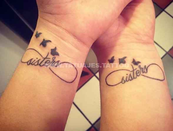 tatuajes en la muñeca del infinito