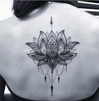 Flor De Loto Mandala Tattoo Design Sfb