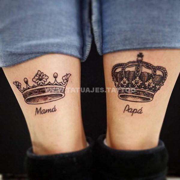 50 Ideas De Tatuajes De Padres Foto Y Significado Tattoos