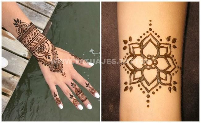 Las mejores fotos de Tatuajes Henna Ideas increbles para tus tattoos
