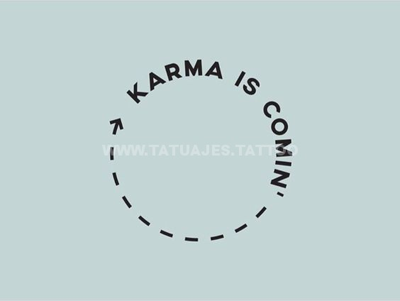 tatuajes karma 14 Tatuajesde Karma