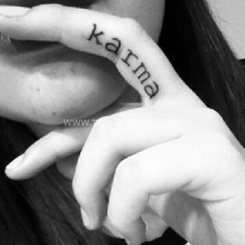 tatuajes karma 18 Tatuajesde Karma